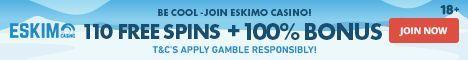 Eskimo Casino banner